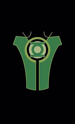 Lantern Digital Art - Green Lantern - Simon Baz by Brand A