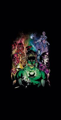 Lantern Digital Art - Green Lantern - The New Guardians by Brand A