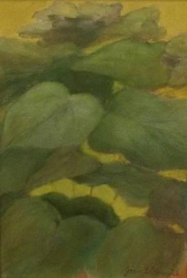 Painting - Green Leaves by Joan Garverick