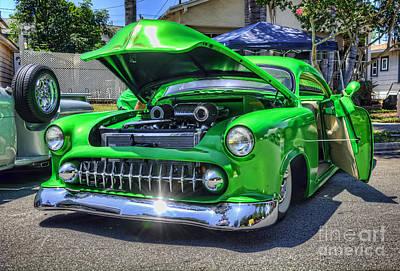 Photograph - Green Machine by Eddie Yerkish