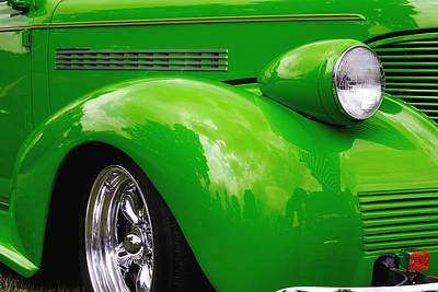 Photograph - Green Machine by John Kiss