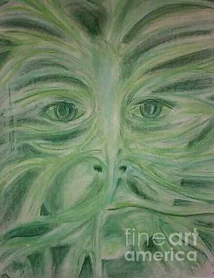 Photograph - Green Man by Jeanette Hibbert