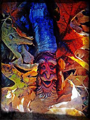 Photograph - Green Man by Jeremiah Colley