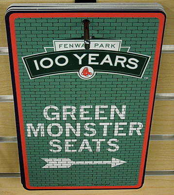 Photograph - Green Monsta Seats by Caroline Stella