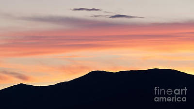 Photograph - Green Mountain Dusk by Alan L Graham