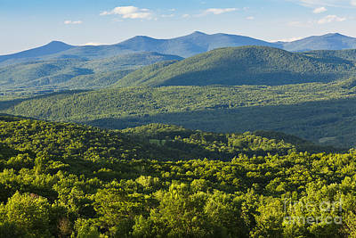 Photograph - Green Mountains Of Vermont by Alan L Graham