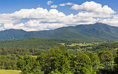 Photograph - Green Mountains Summer View by Alan L Graham