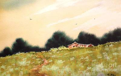 Painting - Green On Green by Suzanne McKay