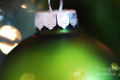Green Ornament  Art Print by Birgit Tyrrell
