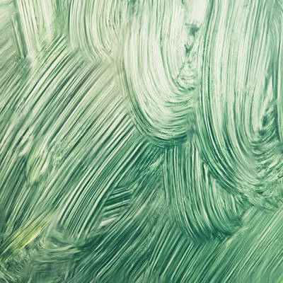 Messy Photograph - Green Paint by Tom Gowanlock