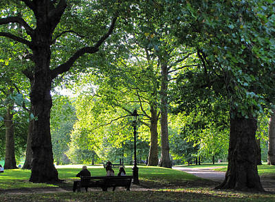 Photograph - Green Park by Karen E Phillips