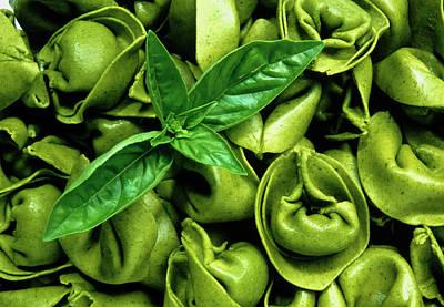 Verdi Wall Art - Photograph - Green Pasta by Th Foto-werbung/science Photo Library