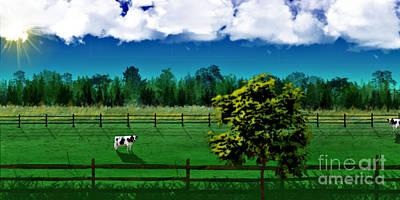Green Pastures Art Print