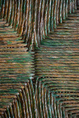 Photograph - Green Pattern by Teresa Blanton