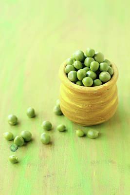 Photograph - Green Peas by Harini Prakash