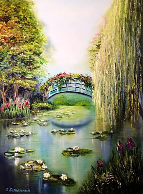 Green Pond Art Print by Svetlana Semenova