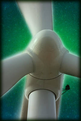 Photograph - Green Power by WB Johnston