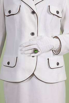 Green Ring Art Print by Joana Kruse