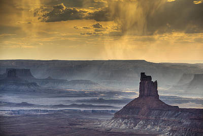 Photograph - Green River Basin Storm by Dan Mihai