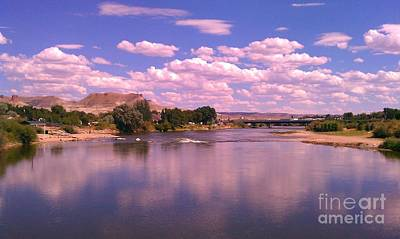 Art Print featuring the photograph Green River by Chris Tarpening