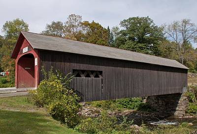 Photograph - Green River Covered Bridge - Guilford Vermont by John Black