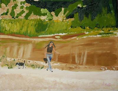 Green River Dinosaur National Park Art Print
