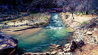Green River Print by Southwindow Eugenia Rey-Guerra
