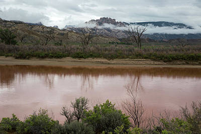 Muddy Waters Photograph - Green River by Jim West