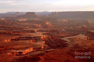 Green River Overlook Art Print
