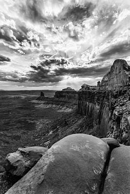 Art Print featuring the photograph Green River Overlook by Jay Stockhaus