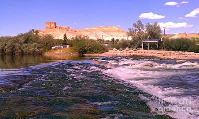 Art Print featuring the photograph Green River Rapids by Chris Tarpening
