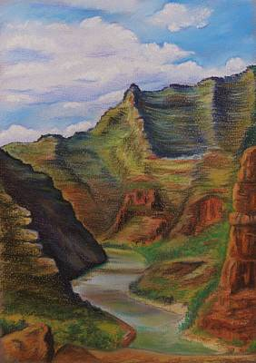 Green River Utah Art Print by Lucy Deane