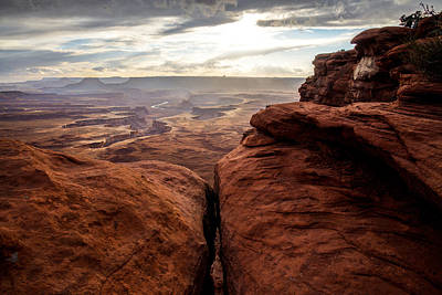 Photograph - Green River View by Dustin  LeFevre