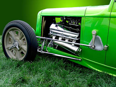 Photograph - Green Rod by Chris Thomas