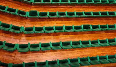 Photograph - Green Seats by Jenny Setchell
