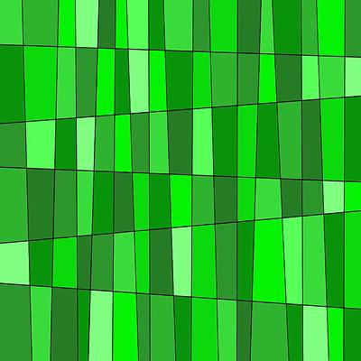 Digital Art - Green Seventeen by Jeff Gater