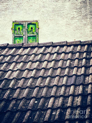Photograph - Green Shutters by Silvia Ganora
