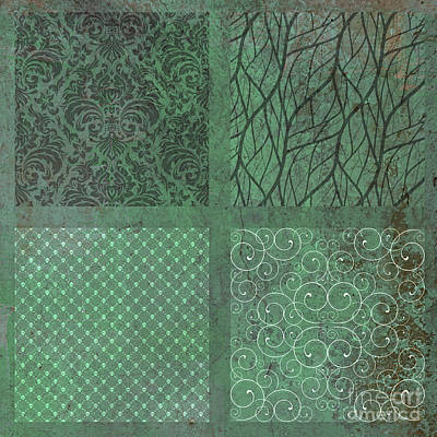 Photograph - Green Squares by Mindy Bench