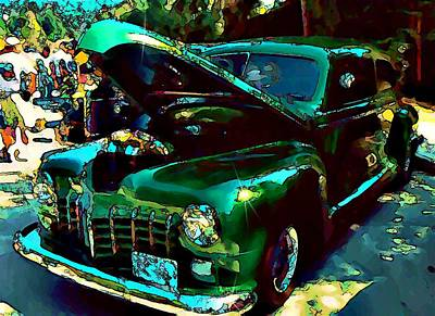 Photograph - Green Street Machine by Stanley  Funk