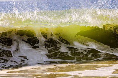 Photograph - Green Summer Wave 2 by Maureen E Ritter