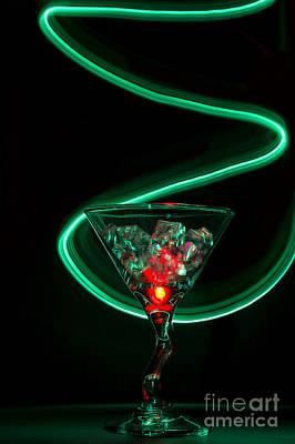 Photograph - Green Swirl by Sonya Lang