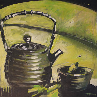 Painting - Green Tea by Tim Nyberg