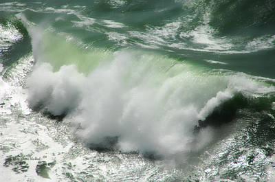 Bonita Point Photograph - Green Thunder by Donna Blackhall