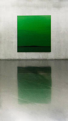 Abstract Photograph - Green by Toni Guerra