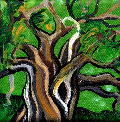 Painting - Green Tree by Genevieve Esson
