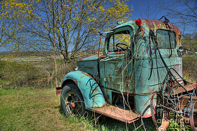 Photograph - Green Truck by Nicki McManus