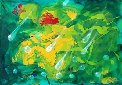 Green Two Original by Marcello Cicchini