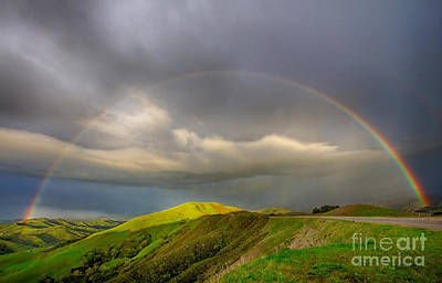 Photograph - Green Valley Rainbow by Beth Sargent