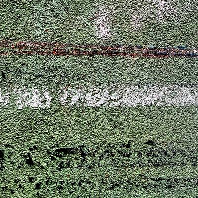 Abstract Wall Art - Photograph - Green Wall by Jason Michael Roust