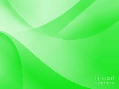 Royalty-Free and Rights-Managed Images - Green Wallpaper by Henrik Lehnerer